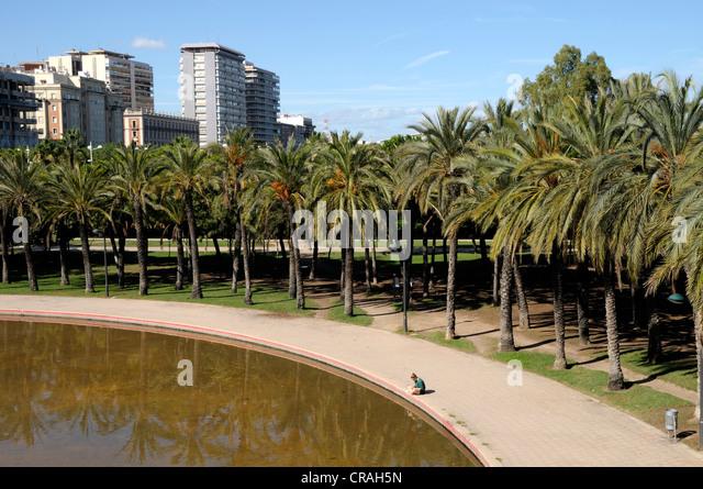Turia gardens stock photos turia gardens stock images for Jardines de tabarca valencia