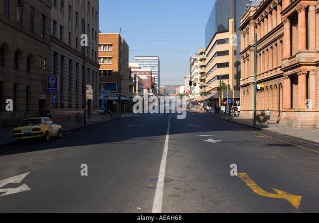 Pretoria City Paul Kruger Street - Stock Image