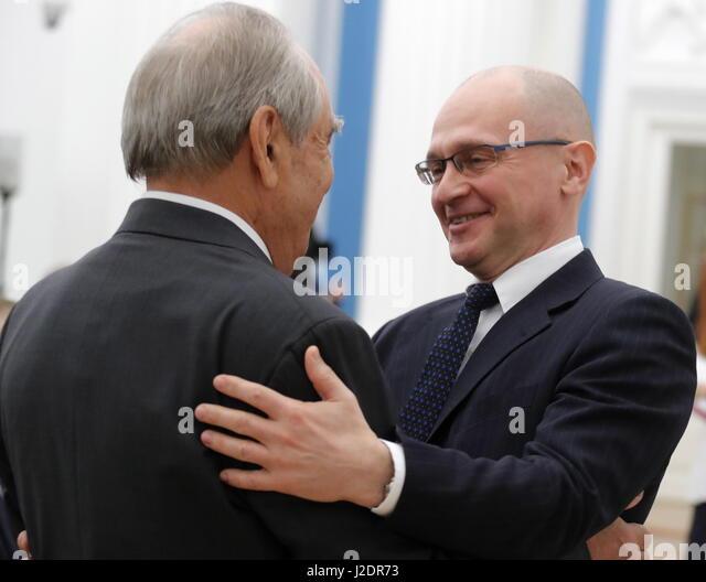 Putin awarded Kiriyenko the title of Hero of Russia 07/05/2018 78