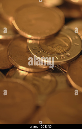 Scattered Change - Stock Image