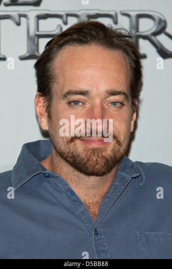 Cast member Matthew MacFadyen arrives for a photo call on the film 'The Three Musketeers' in Munich, - Stock Image