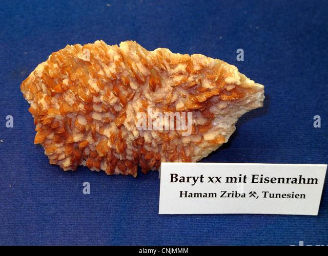 Baryt xx with Eisenrahm Tunisia - Stock Image