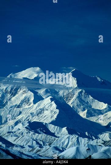 Alaska Mount McKinley Denali National Park - Stock Image