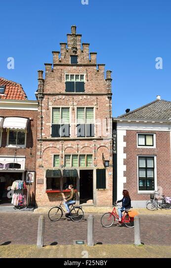 Netherlands, Northern Holland, Edam village, Edams Museum - Stock Image