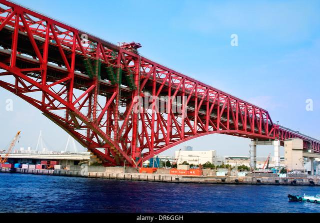 Kobe Port, Japan - Stock Image