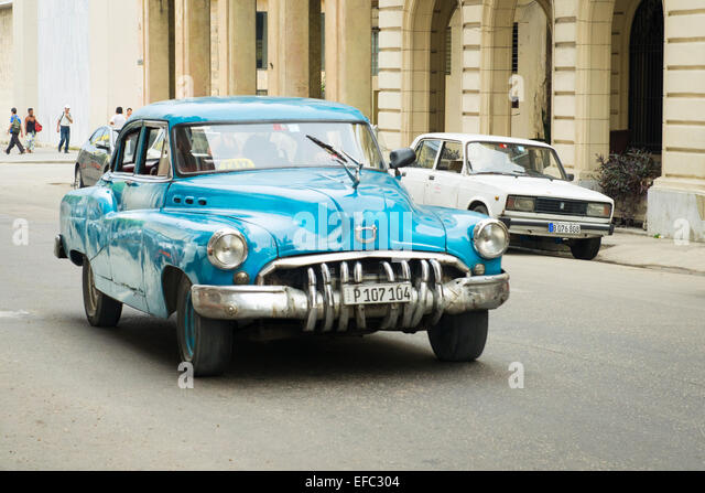 Classic Vintage 1950 39 S American Car Taxi Cab Passengers Stock Image
