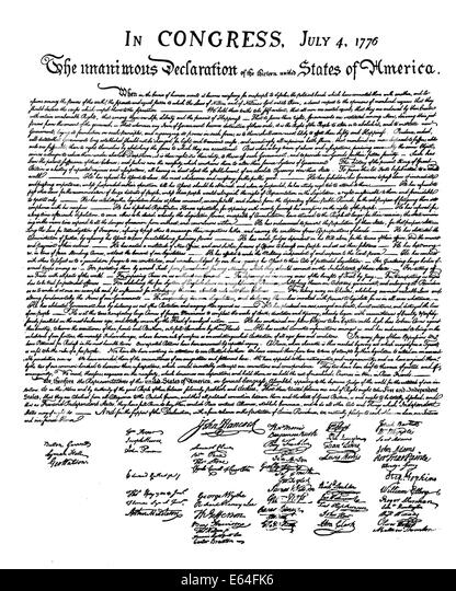 a breakdown of the american declaration of independence View the declaration in the gilder lehrman can the declaration of independence be considered a the war for independence the american.