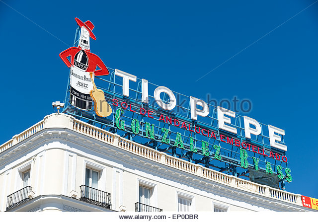 Tio stock photos tio stock images alamy for Tio pepe madrid puerta del sol