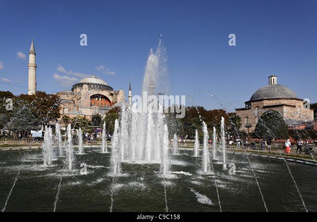 Hagia Sophia, Ayasofya, Istanbul, Turkey , Europe, - Stock Image
