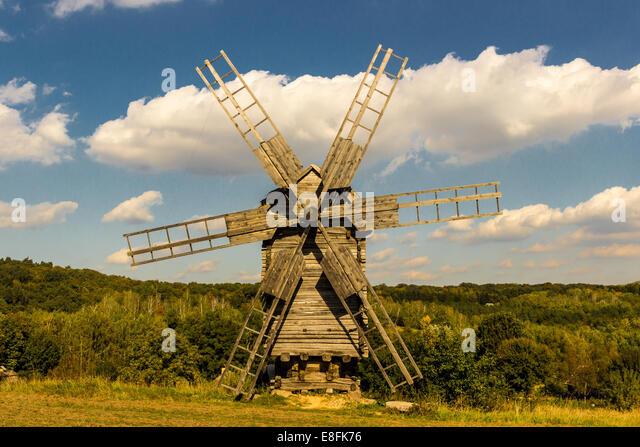 Ukraine, Kyiv, Windmill - Stock Image