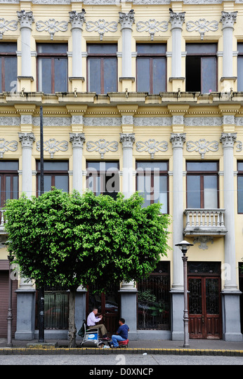 Central America, Costa Rica, San Jose, Centro, Capitol, Latin America, City, street, San Jose, building - Stock Image