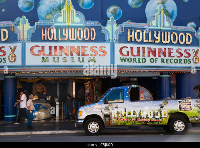 Guinness Museum in Hollywood, Los Angeles, California, USA - Stock Image