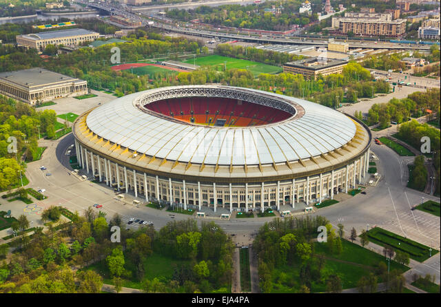 Luzhniki Stadium And Moscow Stock Photos Amp Luzhniki
