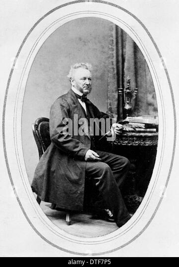 David Moore (1807–1879) - Stock Image