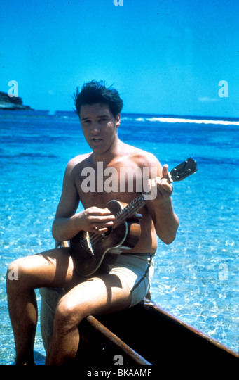 BLUE HAWAII ELVIS PRESLEY - Stock Image
