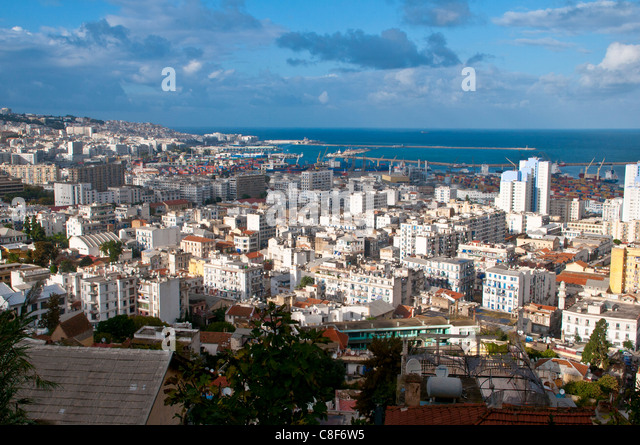 View over Algiers, Algeria, North Africa - Stock Image