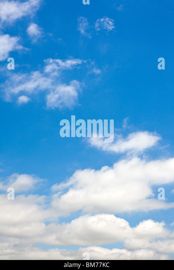 the clouds in the blue sky - Stock-Bilder