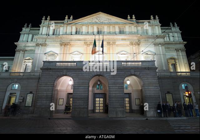 La scala opera house milan - Stock Image