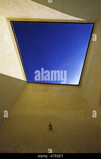 Mausoleum of Moulay Ismail Town of Meknes Morocco - Stock Image