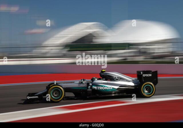 Sochi, Russia. 1st May, 2016. Mercedes driver Nico Rosberg of Germany ...
