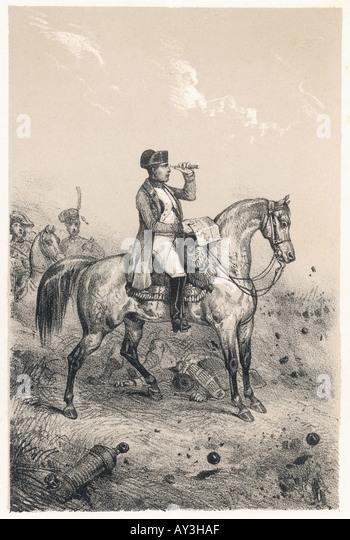 Napoleon Horse Ali 1800 - Stock Image
