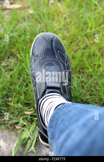 white socks and shoes stock photos white socks and shoes