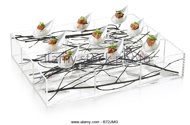 canape tray stock photos canape tray stock images alamy On perspex canape trays