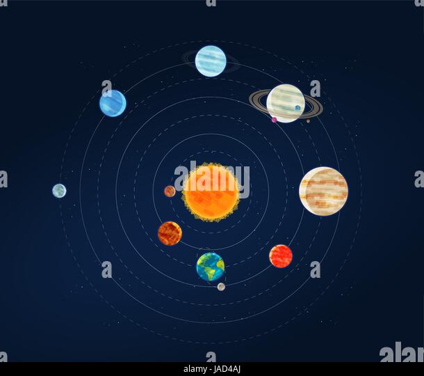 planets and outer space diagram - photo #15