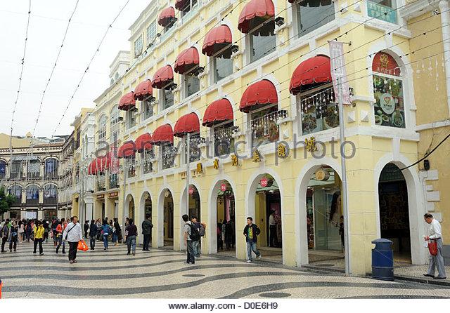 Macau S.A.R, China, Largo de Senado - Stock Image