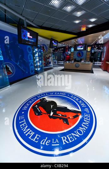 Hockey Hall of Fame, Toronto, Ontario, Canada, North America - Stock Image