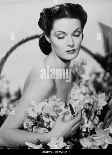 UNKNOWN ACTRESS ACTRESS (1940) - Stock Image
