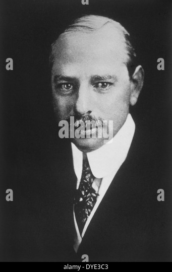 Marcus Loew (1870-1927), American Pioneer of the American Motion Picture Industry who Formed Loew's Theaters - Stock-Bilder