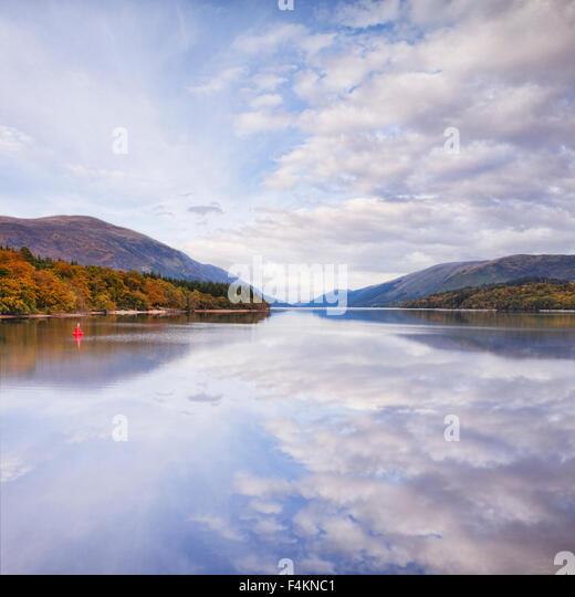 Autumn, Loch Lochy, Highland, Scotland. UK - Stock-Bilder