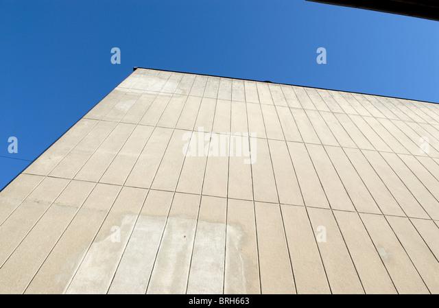 TALL WALL - Stock Image