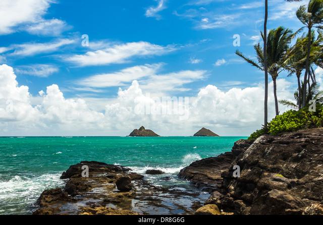 Na Mokulua Hawai: Lanikai Stock Photos & Lanikai Stock Images