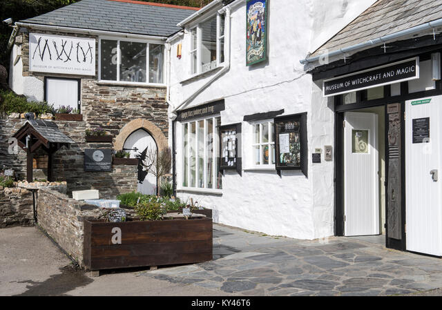Museum of Witchcraft and Magic, Boscastle, Cornwall, England, UK - Stock Image