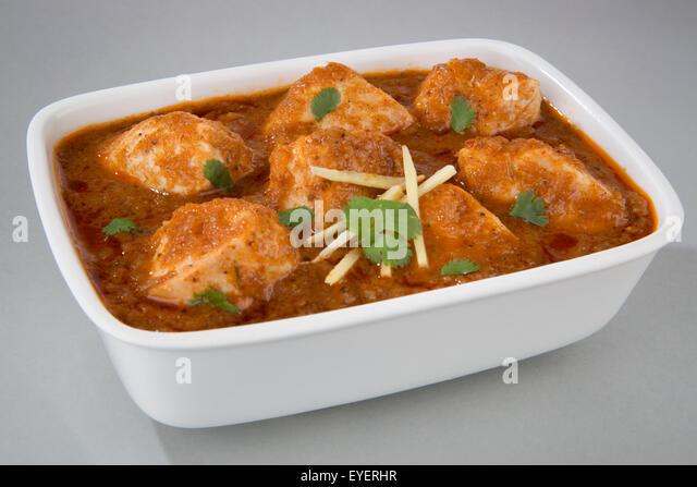 INDIAN CHICKEN ROGAN JOSH - Stock Image