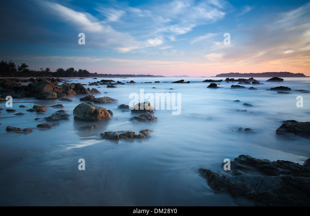 Ngapali beach, Rakhine, Myanmar (Burma) - Stock-Bilder