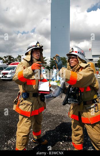 Fire Fighters - Stock-Bilder