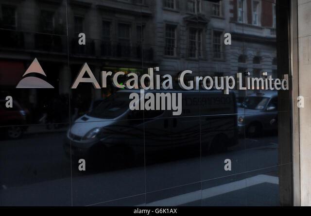 Arcadia group head office at berners street stock photos for Arcadis group
