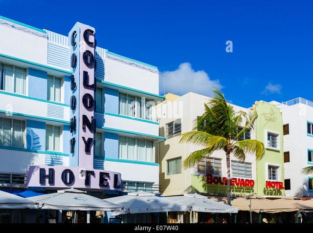 Central South Beach Art Deco District Area Condo