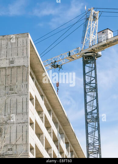 USA, Illinois, Construction site - Stock-Bilder
