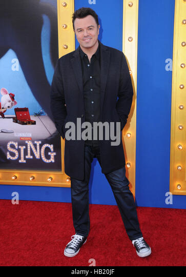 Los Angeles, CA, USA. 3rd Dec, 2016. 03 December 2016 - Beverly Hills, California. Seth MacFarlane. Premiere Of - Stock-Bilder
