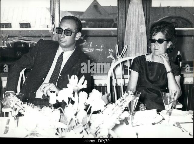 Jul. 07, 1970 - Thorn and Taxis affair - Second round : As has been reported the marriage of prince Max-Emanuel - Stock Image