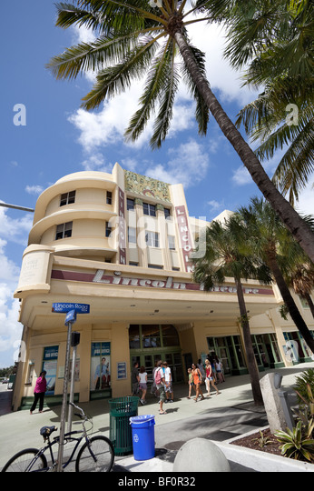 Lincoln Road Miami Florida Stock Photos Amp Lincoln Road