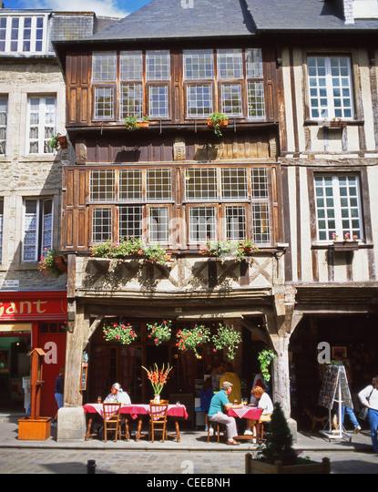 Restaurant Dinan  Place Des Merciers