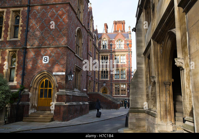 Entrance to the Chapel Hall, Old Square, The Honourable Society of Lincoln's Inn which barristers belong and - Stock Image