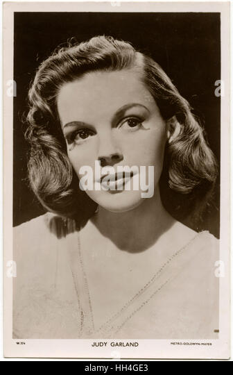 A biography of judy garland an american actress and singer