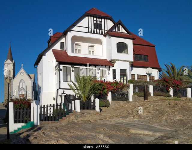 German colonial architecture luderitz stock photos for German colonial house