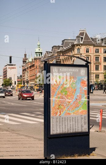 Copenhagen City scene - Stock Image
